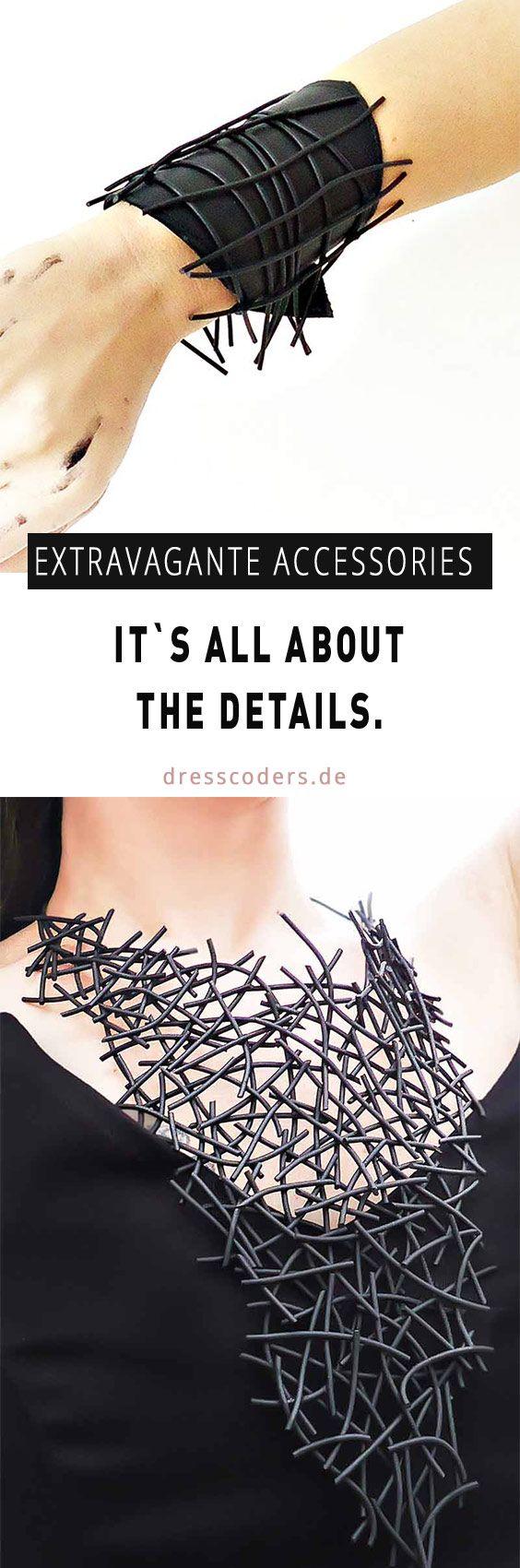 Ausergewöhnliches Design & Extravagante Kombinationen | Diese handgemachte Accessoires sind echte Hingucker !