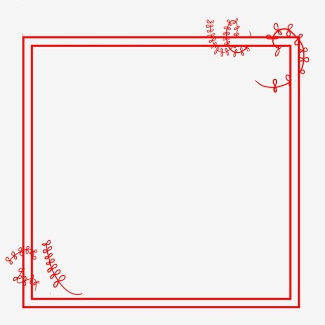 Red Border Red Frame Corner Border Design Clipart Chinese Style Border Title Box Png Transparent Clipart Image And Psd File For Free Download Red Frame Border Design Clip Art