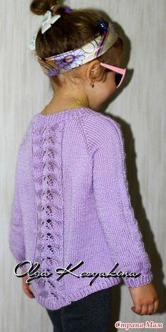 Доброго всем дня, дорогие страномамочки! разрешите похвастаться новой работой. Наверно такой пуловер вязали уже многие, тут даже он-лайн по нему есть.