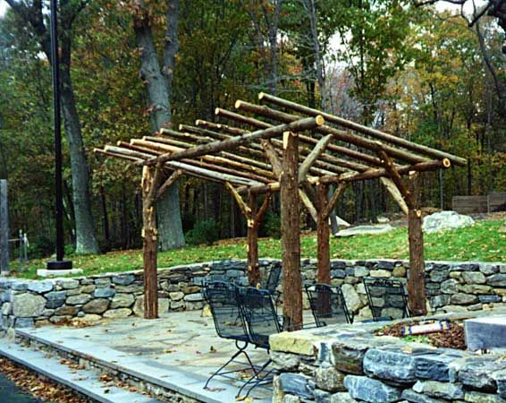 Rustic arbor ellens rustic ideas pinterest rock for Rustic gazebo kits