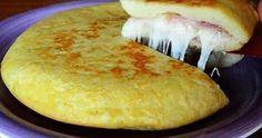 Рецепты Вкусных Домашних Блюд: Итальянский картофельный пирог с ветчиной и сыром