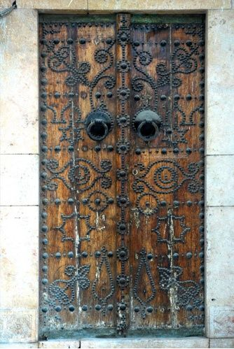 Africa | Elaborate door design. Tunisia |  © Tunisia National Tourist Office UK and Ireland.