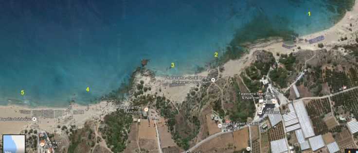 Falassarna - 5 beach areas, each with its own specific #trivo