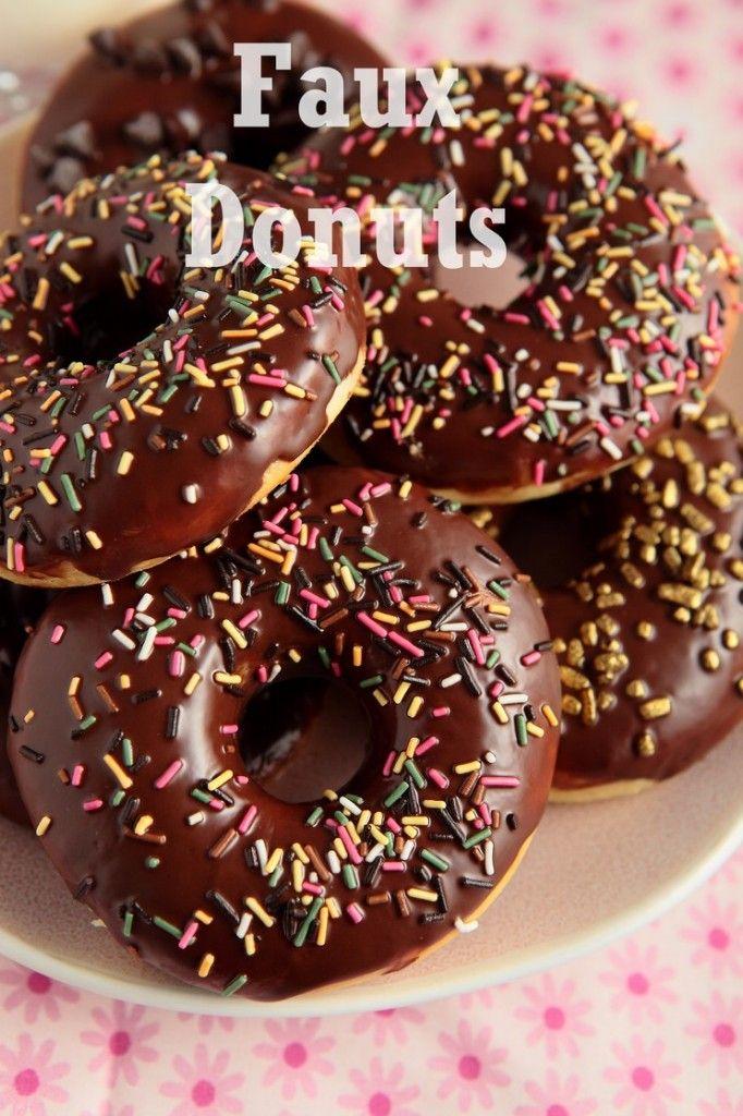 Donuts / Doughnuts au four!