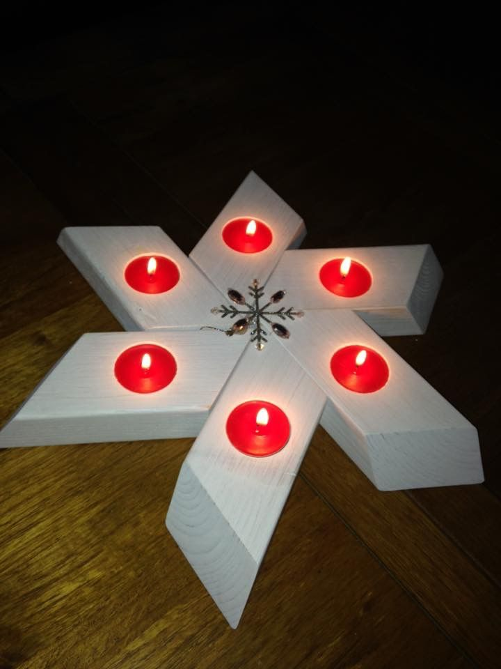 Lovely example of one of Craftonic Woods Christmas Stars