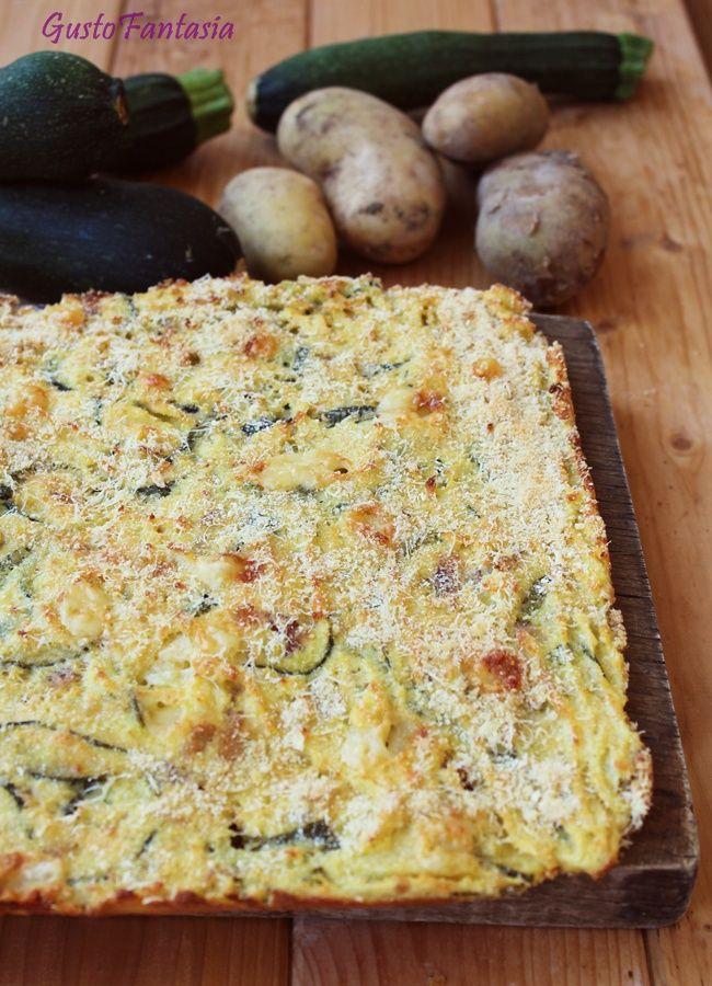 Sformato di patate e zucchine freddo