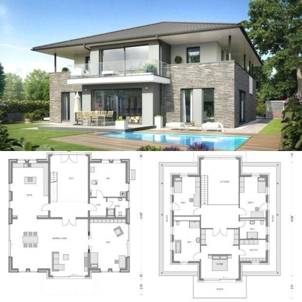 Plansdemaisonatypique Plan Architecture Maison Maison Architecte Plan Maison Architecte