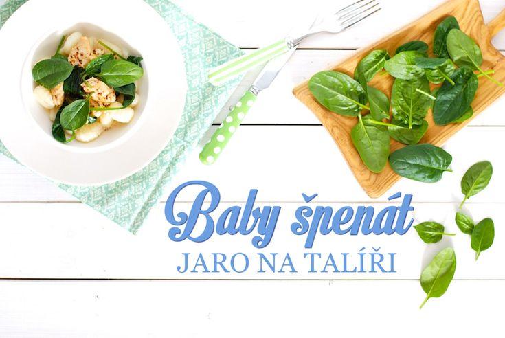 baby špenát recepty