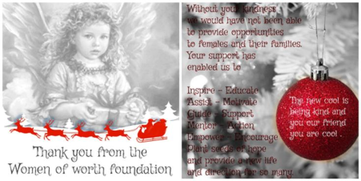 Thank You | Women of Worth Australia Foundation Inc.