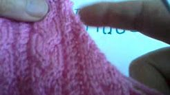 chandail col roule au tricot - YouTube