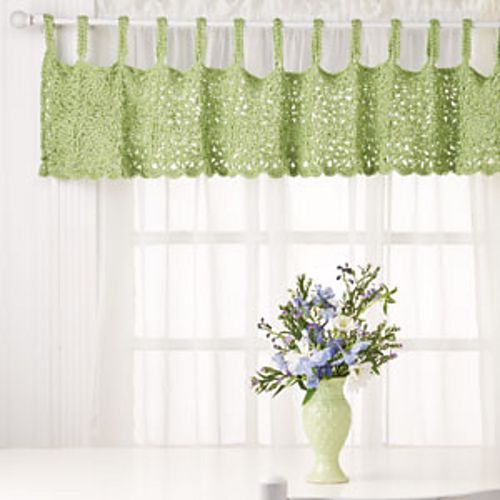 46 Best Images About Window Valance Patterns On Pinterest: 17 Best Images About Crocheted Curtains On Pinterest
