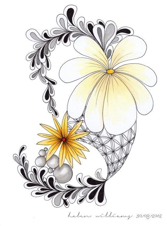 Printable+Zentangle+Patterns | Zentangle Doodle Patterns | Art: Doodle, Sketch, Zentangle, Printables ...
