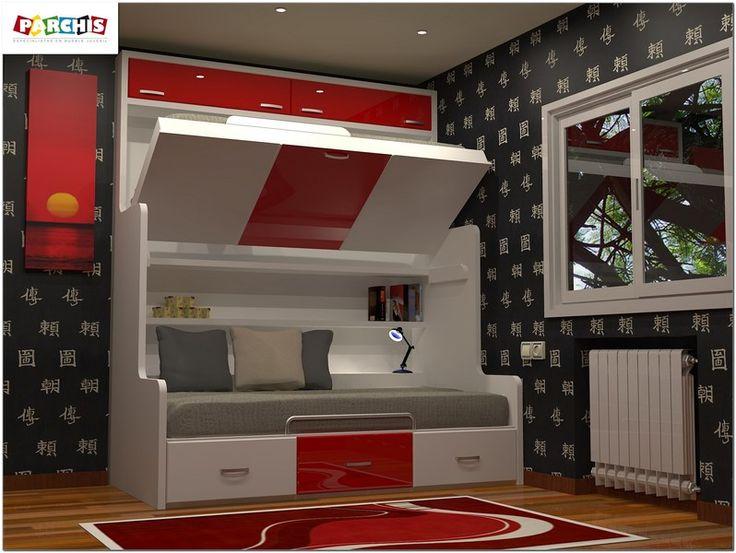 M s de 1000 ideas sobre camas altas en pinterest camas - Cama tipo divan ...