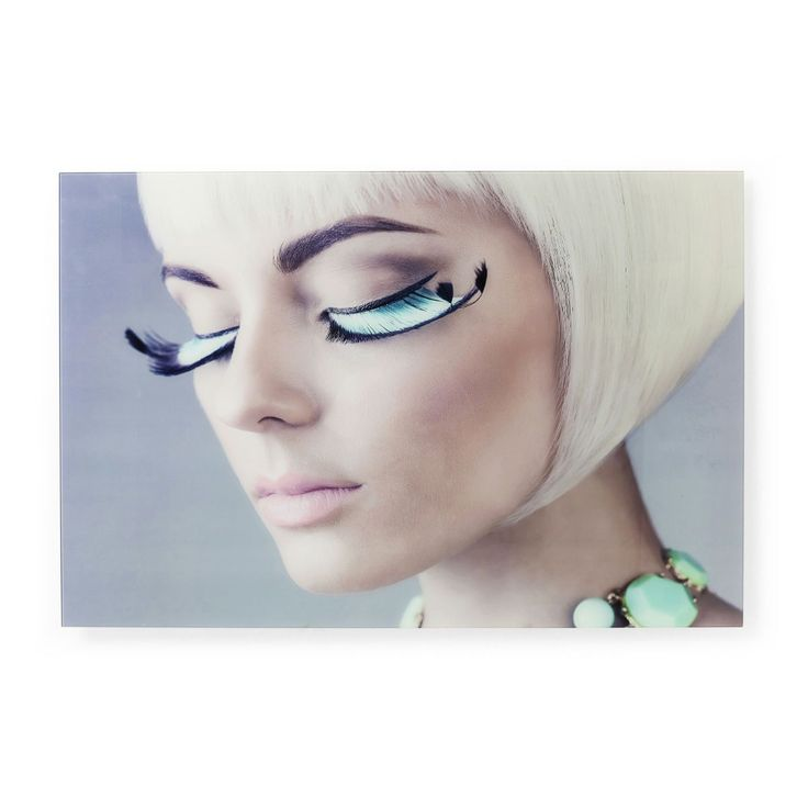 Πίνακας Glass Space Age Lashes 80x120cm  €190