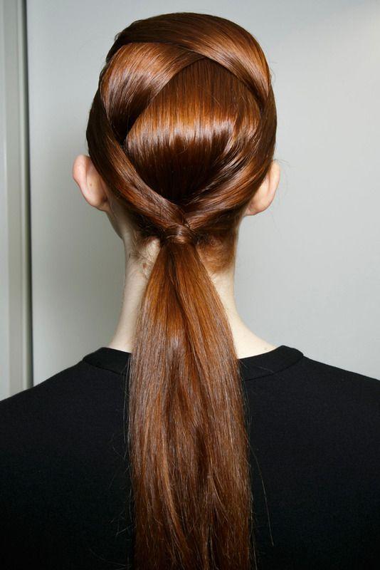 Una idea sencilla para tu cabello - la coleta mas elegante www.creative.es