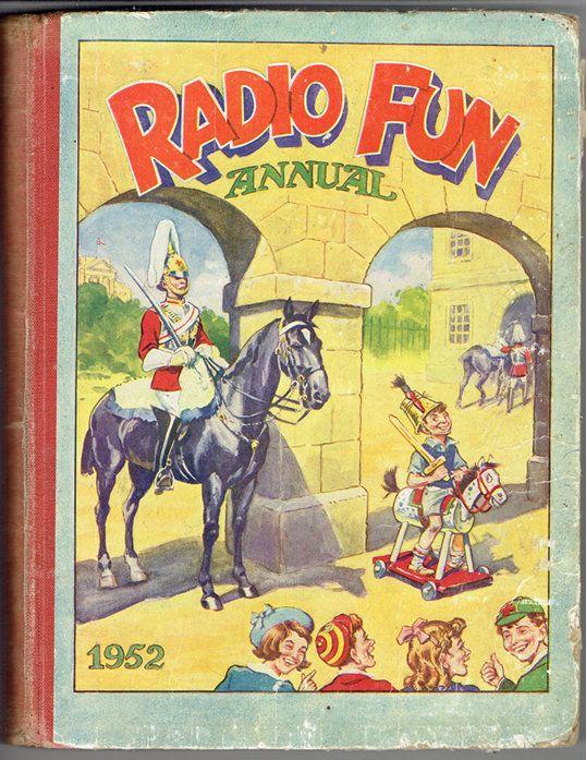 VINTAGE TREASURE - Radio Fun Annual 1952