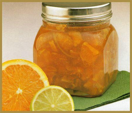 Mermelada de naranjas y limón verde