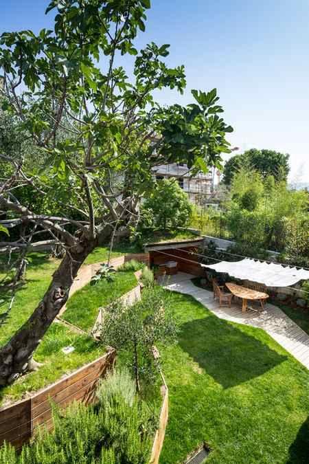 L'oasi verde di Nicola Spinetto a Chiavari.
