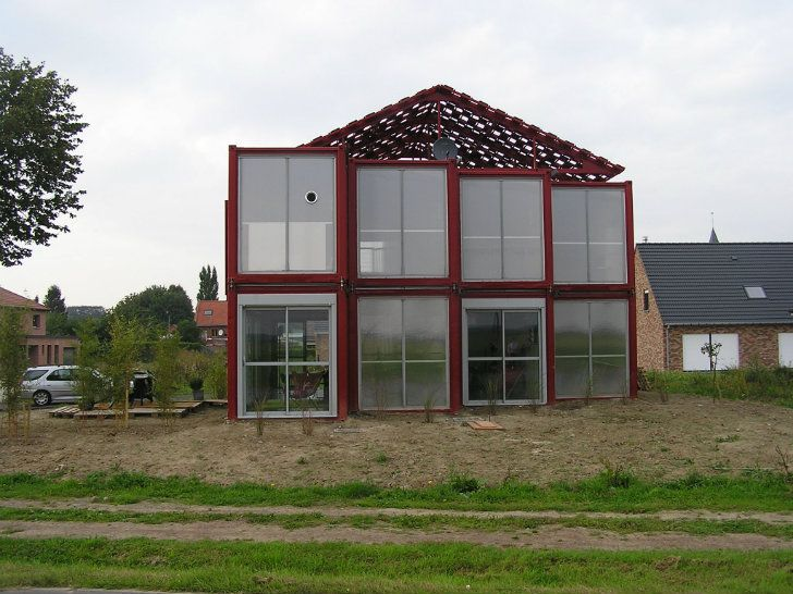 17 best images about container house on pinterest for Maison container passive