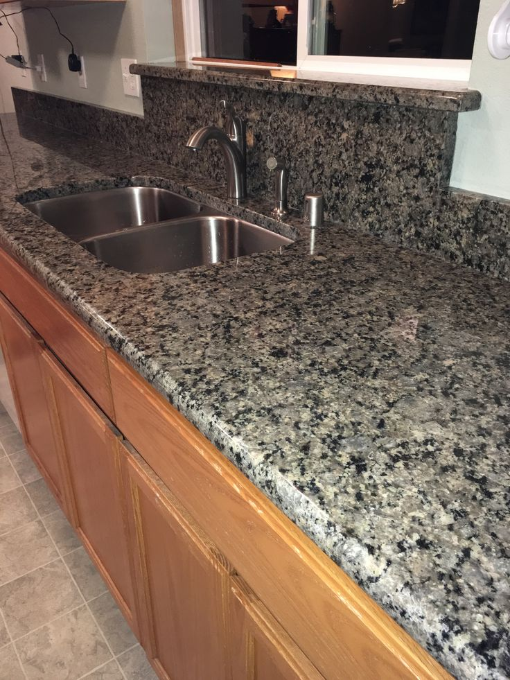 Our Beautiful New Countertops Verde Fusion Granite