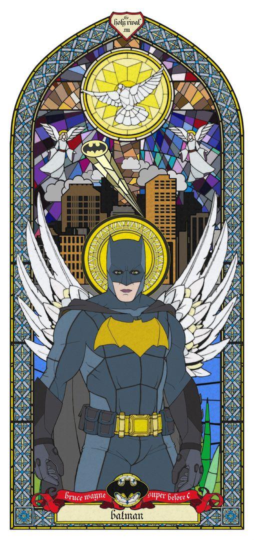 Bruce Wayne - SUPER B.C £240.00  By Gary John Jones  Image 500mm x 841mm on 600mm x 941mm paper UV Digital Printing on 320gms Fuji Velvet Rag Hand Signed,Numbered & Unframed Limited Edition of 45