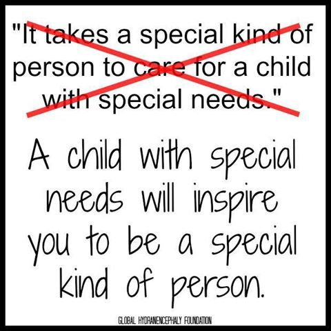 people tell me I must be a special kind of person to do what I do... but this says it all <3