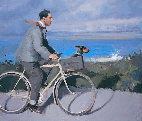 Alan Kingsbury. Moonlighting on Tresco