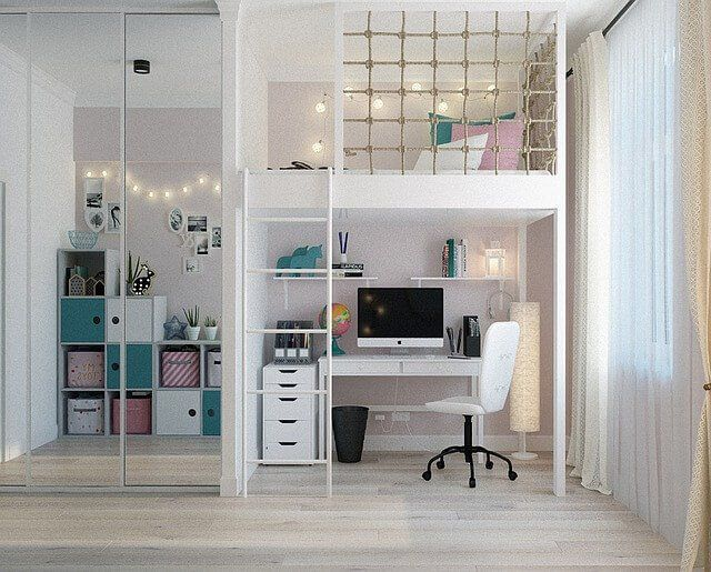 12 Space Saving Kids Bedroom Ideas For Small Rooms Interior Design Bedroom Small Room Design Bedroom Small Rooms