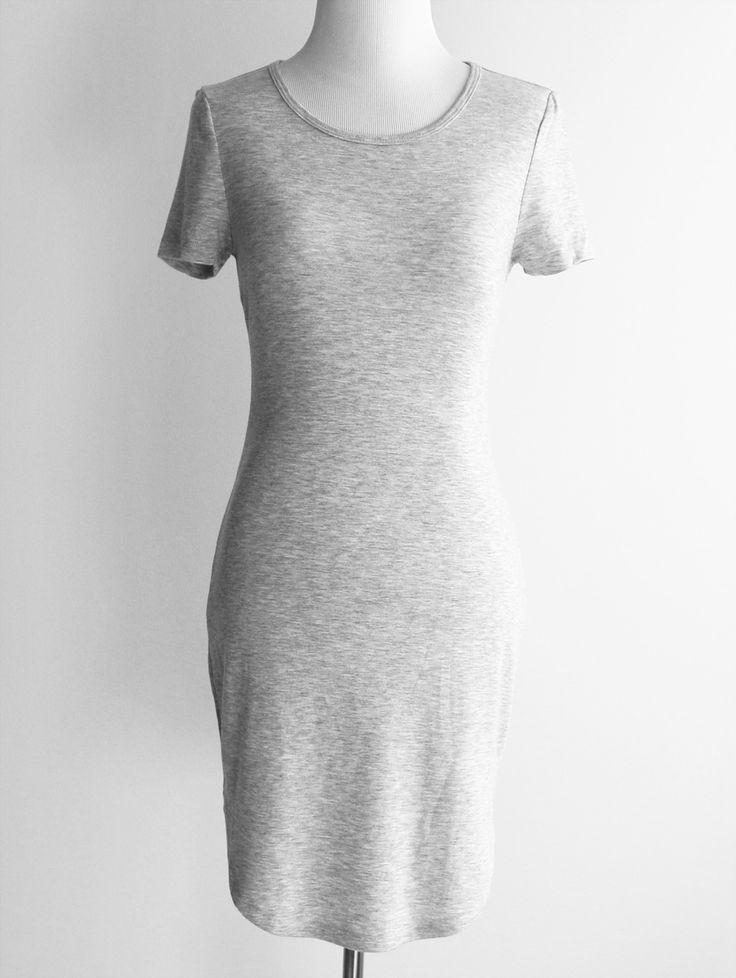 Tautmun - MEGHA DRESS - HEATHER GREY, $15.99 (http://www.tautmun.com/megha-dress-heather-grey/)
