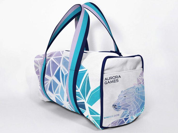 дизайн логотипа, фирменный стиль, айдентика, корпоративная спортивная сумка