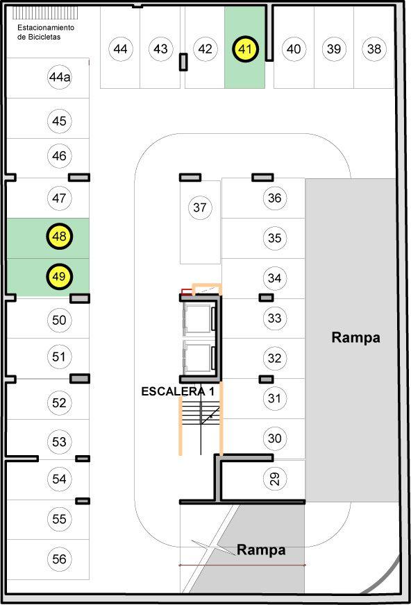 10 Planos de estacionamientos subterraneos