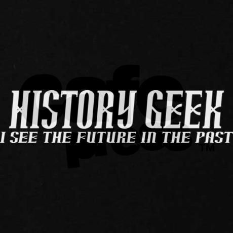 History Geek Past Future Hoodie (dark)