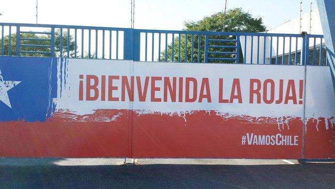 Toca da Raposa já está pronta para abrigar a seleção chilena durante a Copa do Mundo (Foto: Marco Astoni