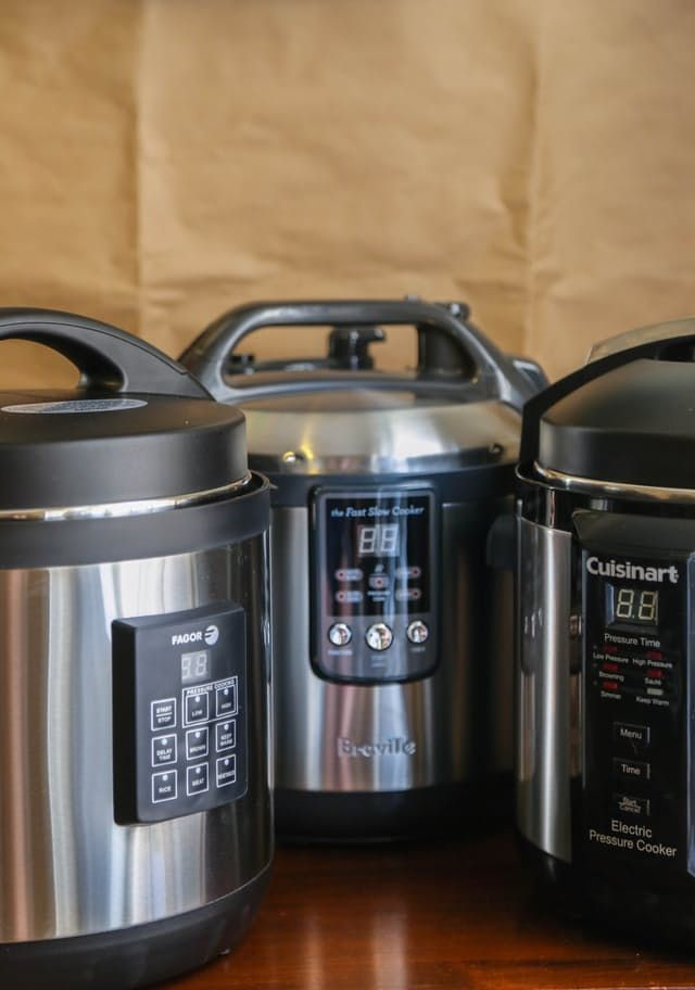 Cuisinart, Fagor, and Breville: Which Electric Pressure Cooker Is Right for You? — Product Review | The Kitchn
