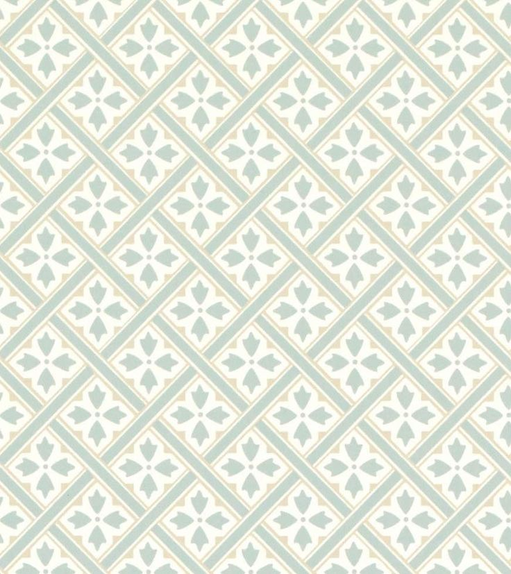 Mr Jones Duck Egg from the Laura Ashley wallpaper collection.