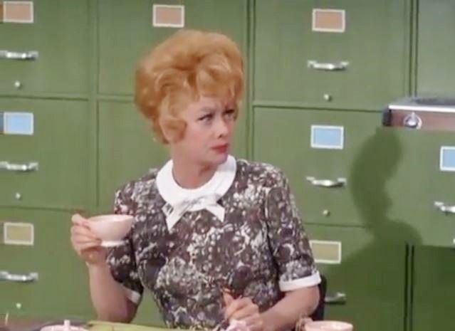 S5;E14 ~ January 2, 1967Synopsis While Lucy takes a scheduled vacation, she is replaced by a temporary secretary (Ruta Lee) that may threaten her job security. Instead of going away, Lucy keeps an eye...