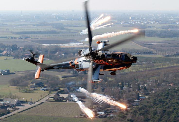 AH-64D Apache Demo Team | Sanicole Airshow (2013)