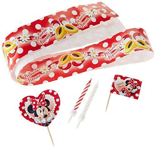 Minnie Mouse kage dekoration sæt