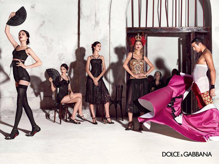 Dolce & Gabbana SS 15 Photography Domenico Dolce , Models José Maria Manzanares, Bianca Balti, Blanca Padilla, Irina Sharipova, Vittoria Ceretti