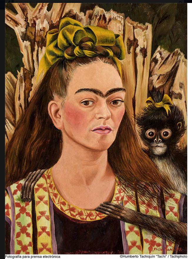 Autorretrato de Frida Kahlo Casa Museo Brady, Cuernavaca