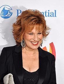 Joy Behar (born Josephina Victoria Occhiuto; born October 7, 1942)[1] is an American comedian, writer, actress, and a co-host of the talk show The View. Behar had a commentary program, entitled The Joy Behar Show, on CNN's sister network, HLN.[2] It was cancelled on November 17, 2011.