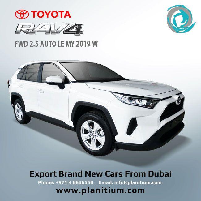 Pin On Export 2019 Toyota Rav 4 From Dubai