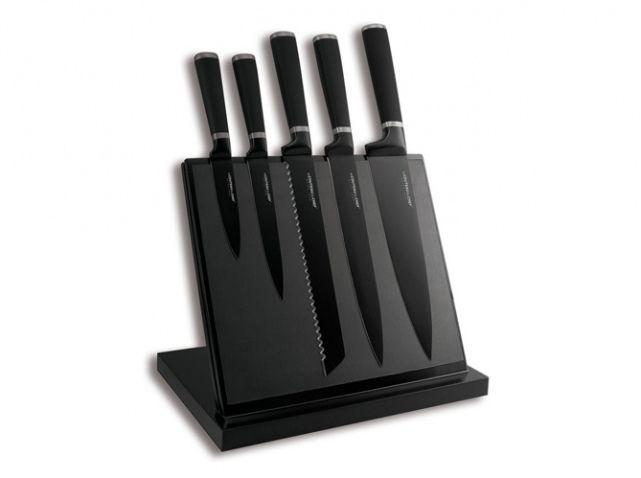 Set couteaux noirs, La redoute