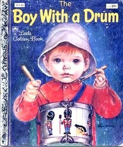 Eloise Wilkin ~ Boy With a DrumGoldenbook, Eloi Wilkens, Little Golden Book, Vintage Children, Eloi Wilkins, Boys, Eloise Wilkins, Drums, Children Book