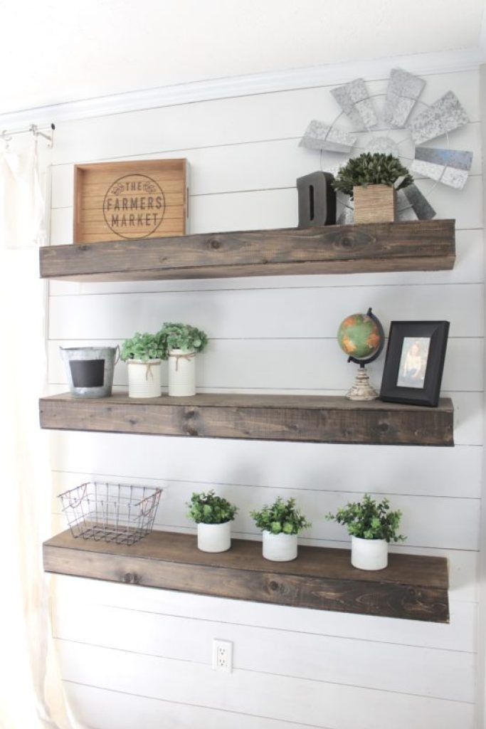 shelves Floating Shelves DIY – How to Create Your Own Floating Shelves #DIY #e …   – Regale