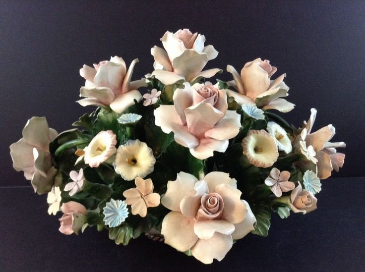 Best images about capodimonte floral elegance on