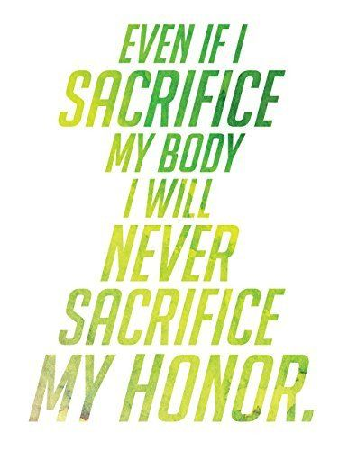 Overwatch Poster Watercolor Genji I Will Never Sacrifice My Honor Art Print Wall Decor