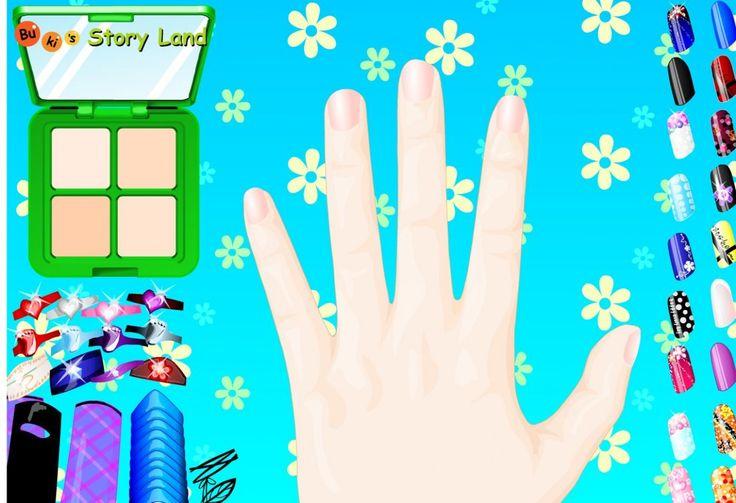 Młoda kobieta chce na Wielkanoc zrobić sobie ładne paznokcie w wiosennym stylu. Liczy na Twoją pomoc. Nie zawiedź jej.  http://www.ubieranki.eu/gry/1139/wielkanocne-paznokcie.html