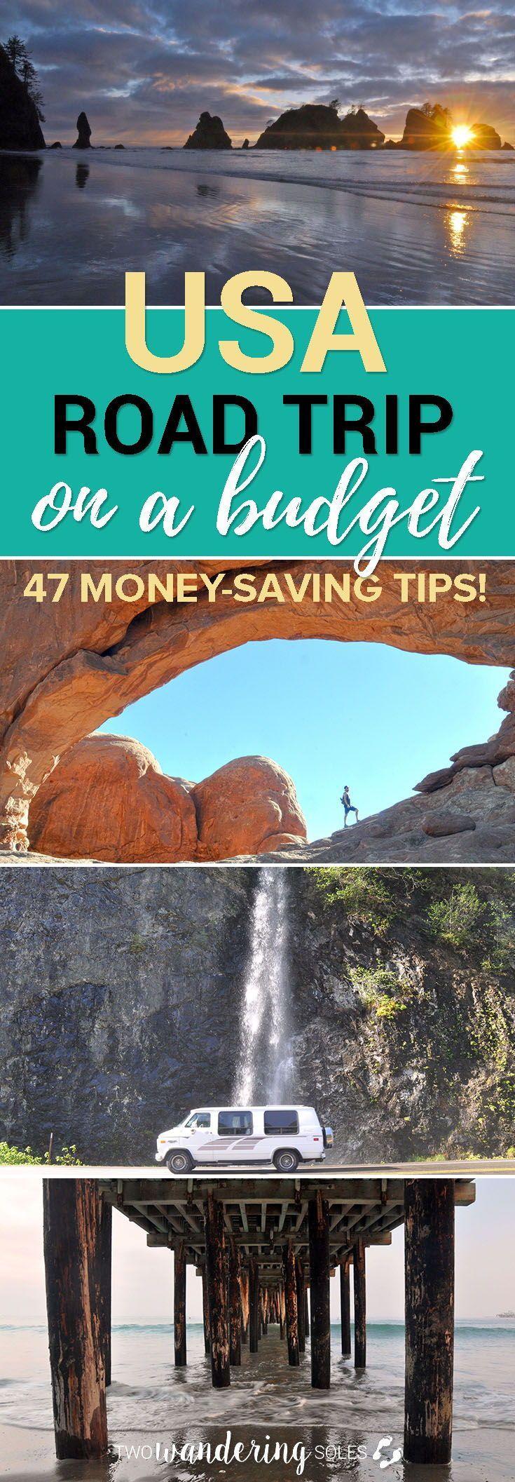 USA Road Trip mit kleinem Budget: 47 Tipps zum Geld sparen, wenn Sie das nächst…