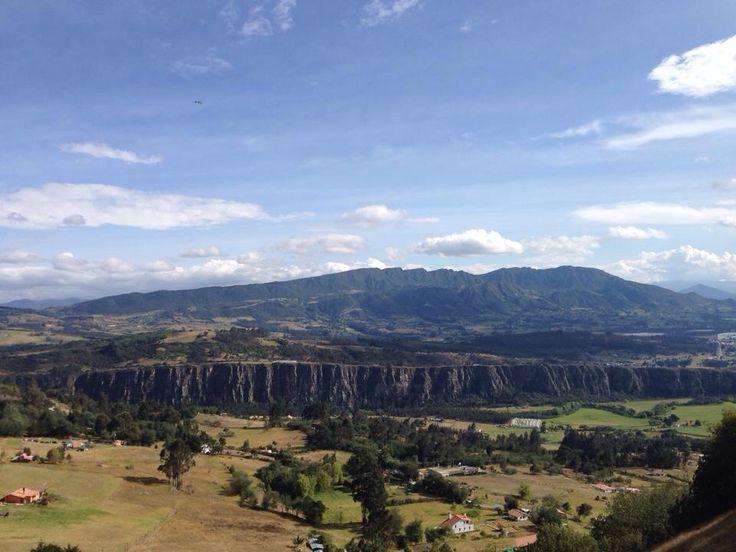 Rocas de Suesca, 2.600 metros de altura